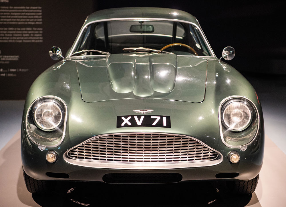 A genuine limited edition 1962 Aston Martin DB4 GT Zagato, but some DB4 GT cars have been modified to pass as Zagato replicas to meet demand - Ph: Press Association