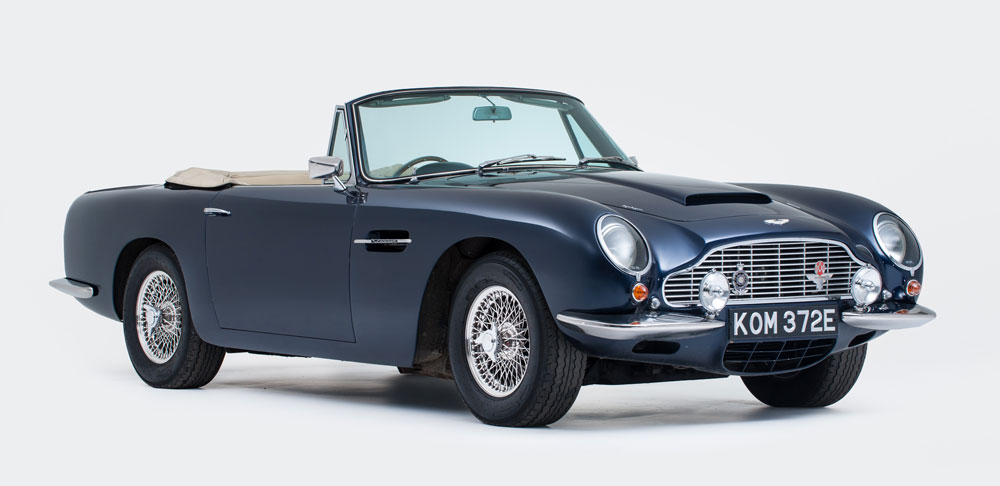 Aston Martin DB6 Volante - Ph Courtesy of allastonmartin.com and Byron International