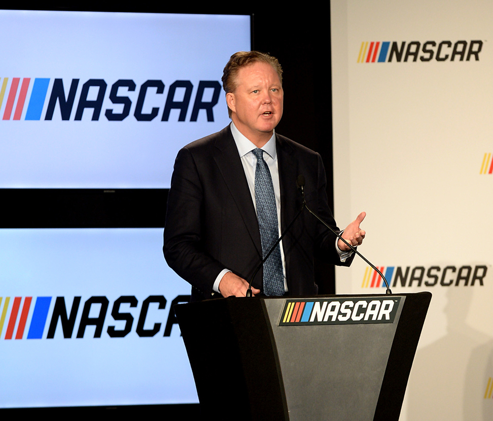 Brian France, grandson of NASCAR founder Bill France and son of former chief executive Bill Jr - Ph. PA