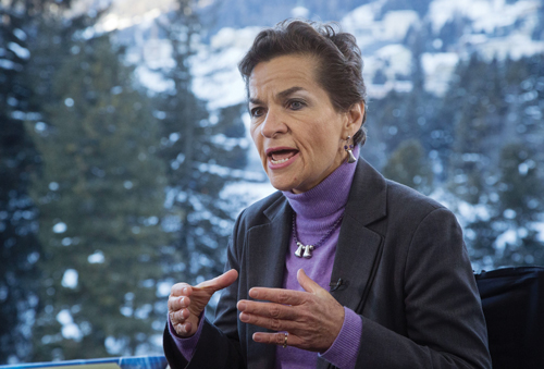 Christiana Figueres, executive secretary of the UN Framework Convention on Climate Change says environmental concerns are increasingly important to institutional investors