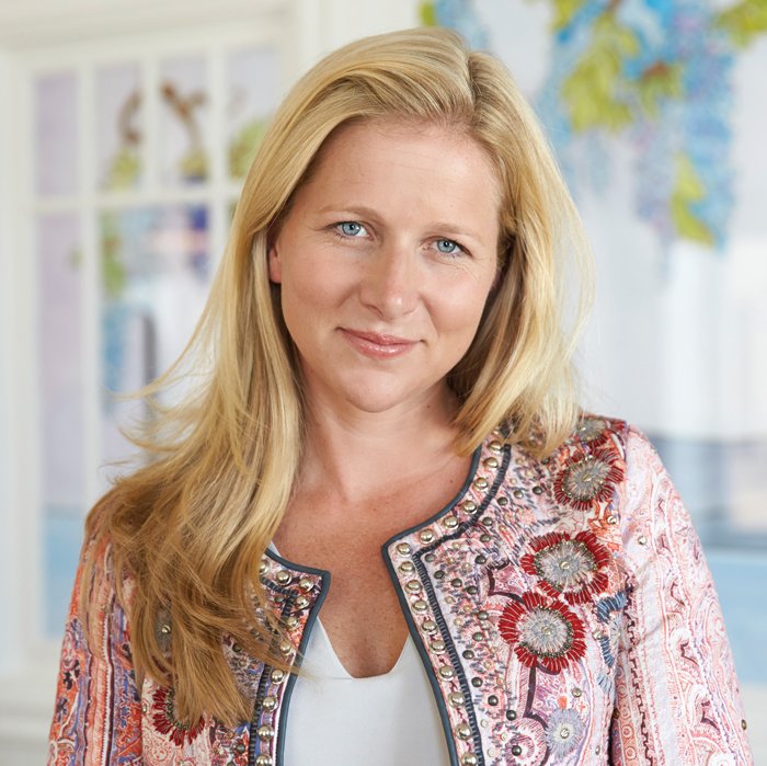 Cristina Stenbeck, the third-generation head of the Swedish investment house Kinnevik