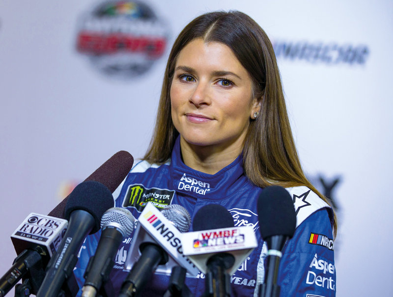 Danica Patrick, professional NASCAR driver, model and actress - Ph: PA