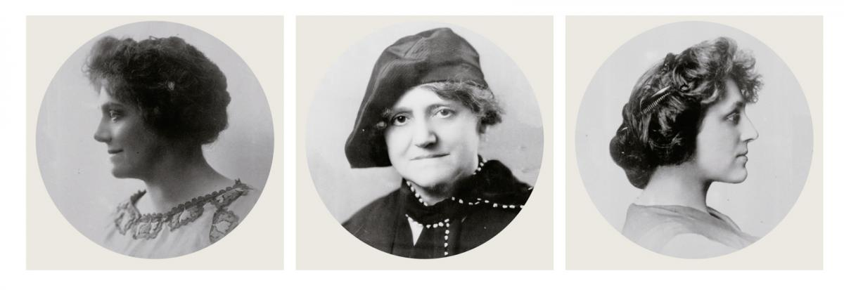 The 'Kohler girls' - Evangeline, Marie, and Lillie Kohler established `Kohler Foundation in 1940 in support of arts and education