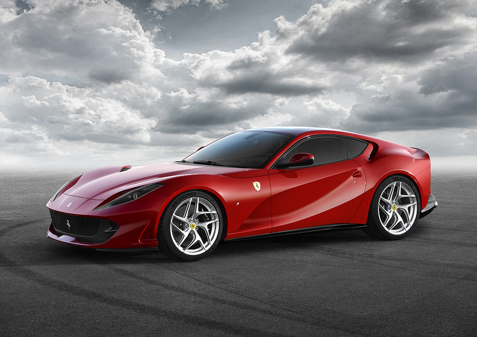 Can family-controlled Ferrari create an e-supercar to match the performance of its new Ferrari 812 Superfast? Ph: © Ferrari