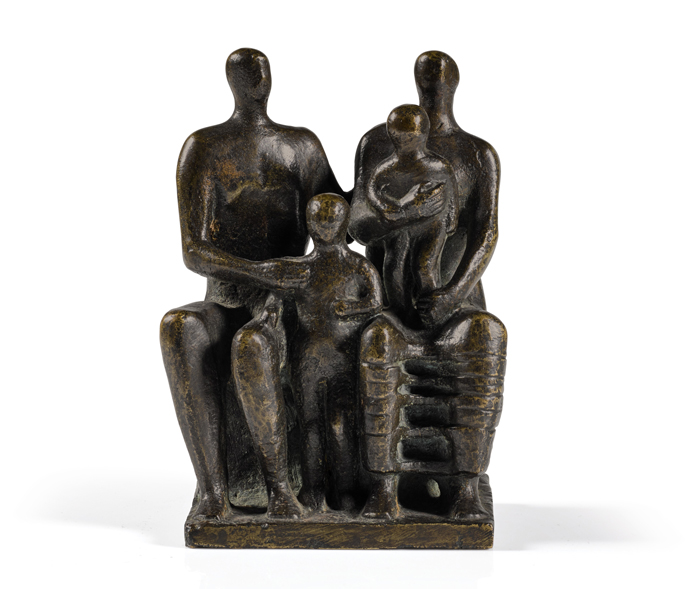 Henry Moore, Family Group (1944)