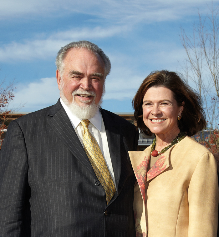Herb Kohler and second-wife Natalie Black Kohler
