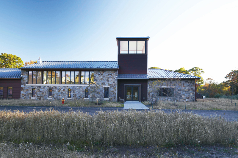The Kohler Environmental Center is hailed as the leading environmental research and education hub at the Connecticut Choate Rosemary Hall university