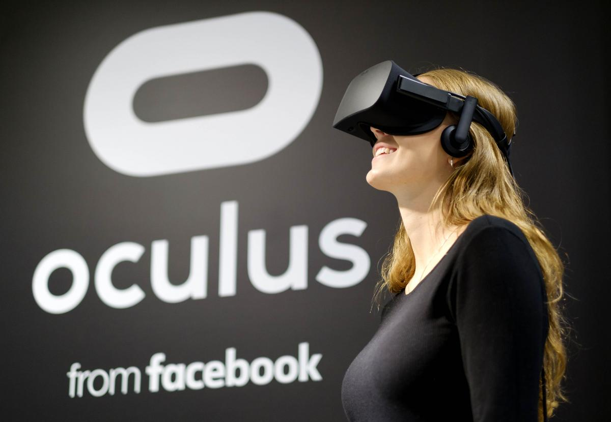 The Oculus Rift, the Facebook-owned virtual reality headset - Photo: PA