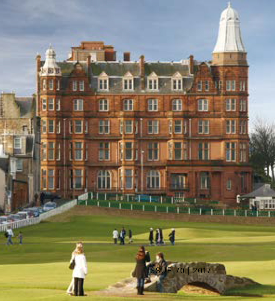 Kohler owns the luxurious home known as Hamilton Grand in St Andrews, Scotland
