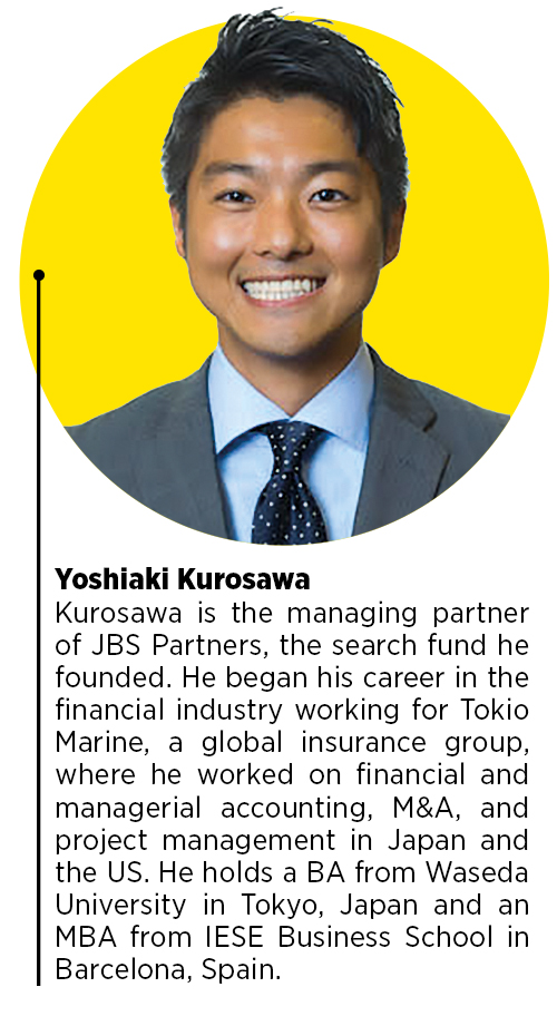 Yoshiaki Kurosawa, founder and  managing partner of JBS Partner