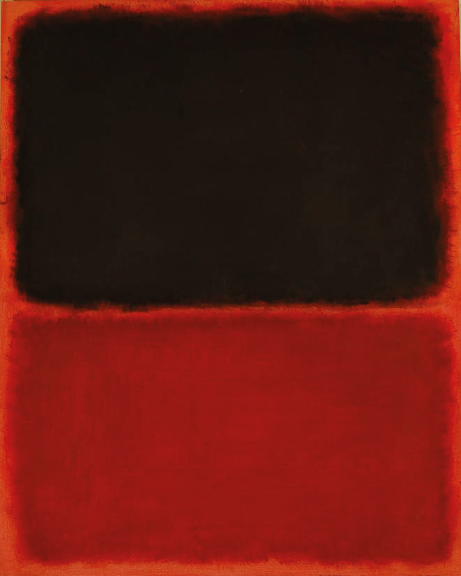 A counterfeit Mark Rothko work bought by the De Sole family from the Knoedler Gallery