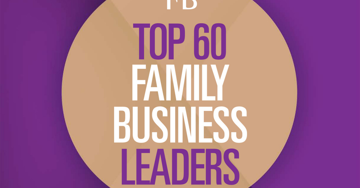 Top 60 Family Business Leaders 2014 | Campden FB