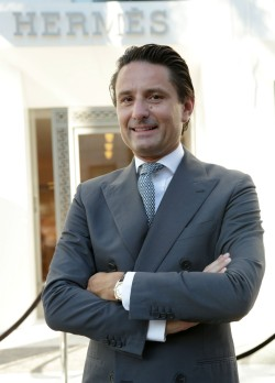Axel Dumas, chief executive and sixth-gen member of the Hermès family, in 2013