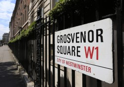 Grosvenor Square is part of the Mayfair and Belgravia estates in central London that is controlled by the Grosvenor family.