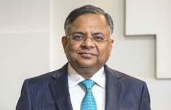 Natarajan Chandrasekaran is chairman of Tata Steel and non-family chairman of the board of Tata Sons.