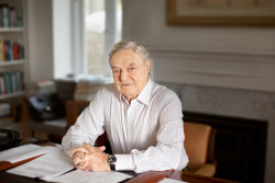 George Soros, founder of Soros Fund Management