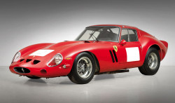 This 1962 Ferrari 250 GTO Berlinetta became the most valuable car in history to be sold at auction when it realised more than $38 million at Bonhams' Quail Lodge Auction in California in 2014 - Ph. Press Association