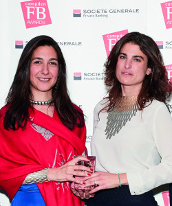 Awards winners Leila Hoda (left) and Sole Ferragamo, of SO-LE Studio.