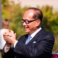 Li Ka Shing, former chairman of CK Asset Holdings