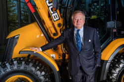 Lord Anthony Bamford, second generation chairman of JCB