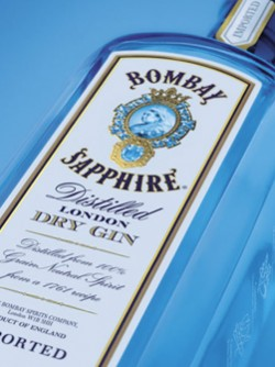 Bombay Sapphire is world's favourite gin