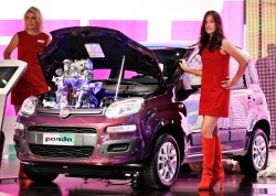 """Day of joy"" for Agnelli family as new Fiat Panda is unveiled"