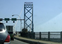 The head of the family business that owns the Ambassador Bridge has been jailed