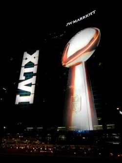 Super Bowl XLVI is a family affair
