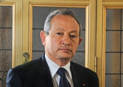 Naguib Sawiris has sold most of his stake in part of the family business