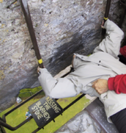 The Blarney Stone is based at the castle owned by the Colthurst family