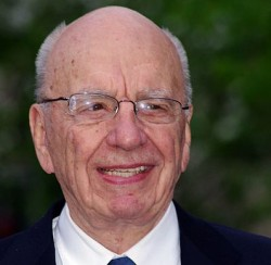 Rupert Murdoch's grip on News Corporation seemed to weaken this week