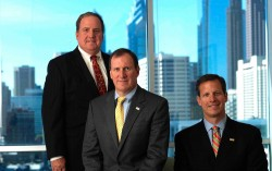 From left: Brothers Michael, Harold and Bill are the third generation of the Yoh family to own Day & Zimmermann