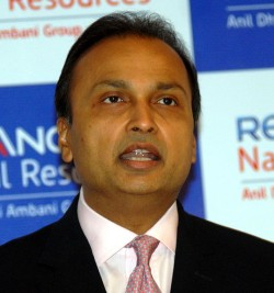 Reliance Group, headed by Anil Ambani, has not been charged after a former UBS banker was banned by the FSA