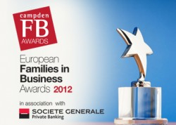 Shortlist for the Families in Business Awards 2012 announced