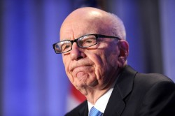 News Corp, headed by Rupert Murdoch, is considering splitting the family business © Press Association