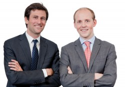 Edouard Janssen, left, and Edouard Thijssen together founded TrustedFamily