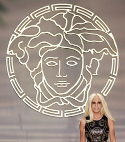 Donatella Versace heads up the famous Italian family business