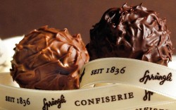 Sweet success: Confeserie Spruengli makes one of the best chocolates in the world