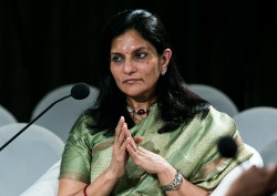 Preetha Reddy talks at the World Economic Forum 2012
