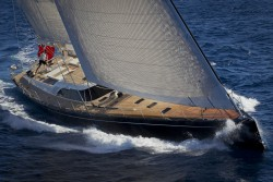 Superyacht Nilaya, built by Baltic Yachts