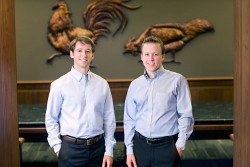 Carl and Charles George: Fourth-gens at the helm of George's Inc