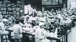 The Merrythought factory in the 1930s
