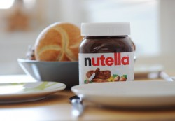 Nutella, one of Ferrero's most famous brands invented by its founder
