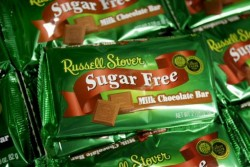Sugar free chocolate: A Russell Stover money spinner