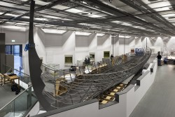 The viking exhibition in the British Museum's new World Conservation and Exhibitions Centre