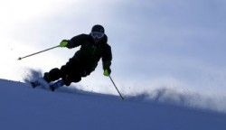 A skier at Park City Mountain Resort