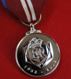 Toye & Co make ceremonial medals, such as this one created for serving military personnel for the Queen's Diamond Jubilee
