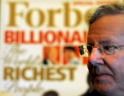 Steve Forbes, grandson of the company's founder.
