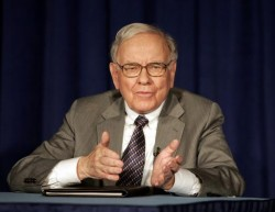 Warren Buffet, founder and chairman of Berkshire Hathaway