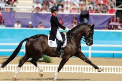 Charlotte Dujardin and Valegro at the London 2012 Olympic Games